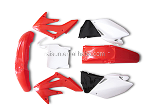 CRF250 CRF XR Cheap off- road big motorcycle body cover plastic cover kit dirt bike Fender