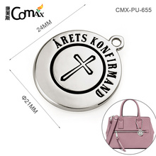 Popular Handbag Decorative Custom Made Metal Logo Charms