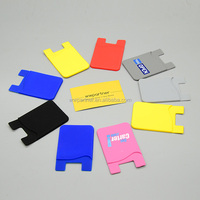 Silicone iwallet mobile phone case card holder wallet