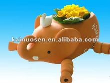 elephant terracotta animal planters