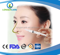 Dermal Filler Hyaluronic Acid with CE Certificates, Cross-linked injectable face use filler