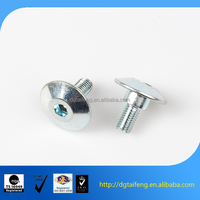 metal snap fasteners decorative head screw