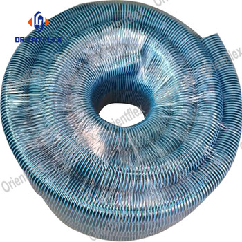 Heavy duty flexible 1.5 inch swimming vacuum suction discharge and water cleaner sweep pool filter hose sections