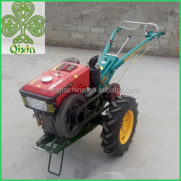 QIXIN Small Agricultural Walking Tractors walking behind tractors made in China