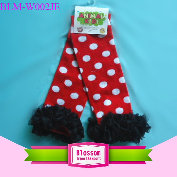 Latest baby leg warmers popular cotton solid color leggings knee baby leg warmers kids clothes