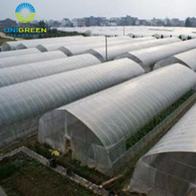 Long life agricultural plastic film tunnel greenhouse with optional equipments