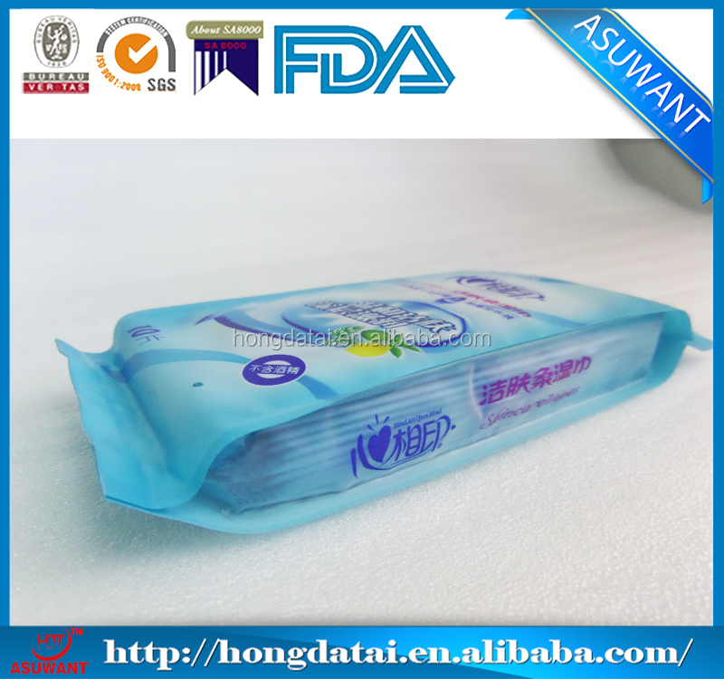 Back sealed lolita sanitary napkin bags