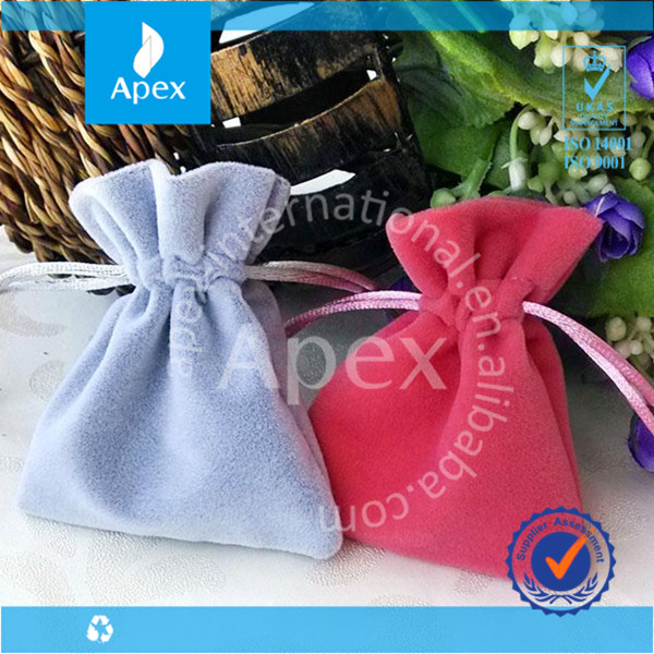 Wedding chic jewelry small drawstring pouches