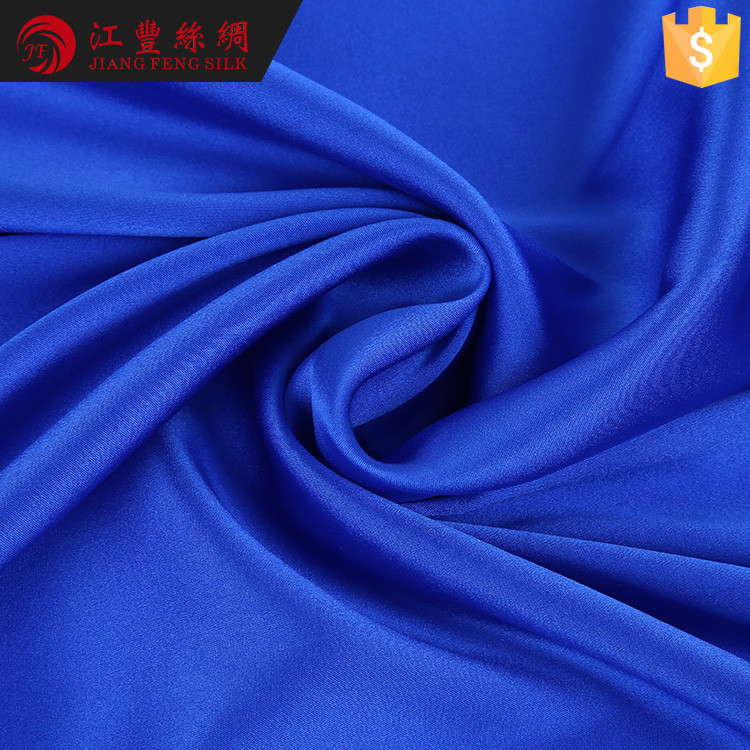 G3 Stretch Crepe Satin Plain Raw Silk Fabrics Price For Dress