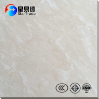 decorative anti-static commercial restaurant supermarket white floor tiles