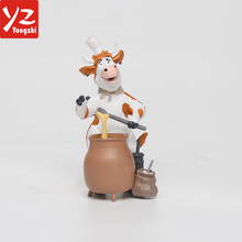 Best Selling Design Your Own Animal Honey Cow Model Doll Toy