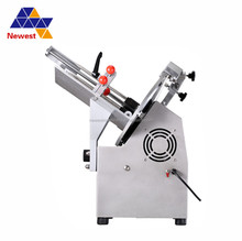 "Wholesale china products frozen meat slicer with 12 inch cutter ,semi automatic meat slicer ,10"" s/s blade meat slicer machine"