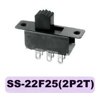 toggle switch cap SS-22F25(2P2T)