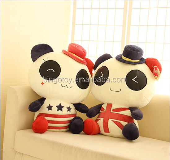 High quality hot selling panda bear stuffed toys giant panda plush toy stuffed animal toy