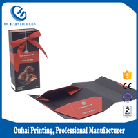 Cheap Printing Provided Foldable Packaging Hardcover