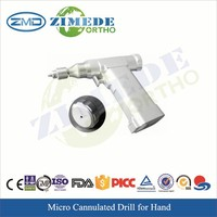 surgical hand drill orthopedic micro electric cannulated drill