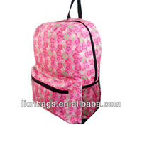 Wholesale fashion custom women high school leather laptop bag backpack Light Weight Waterproof Hunting Backpack