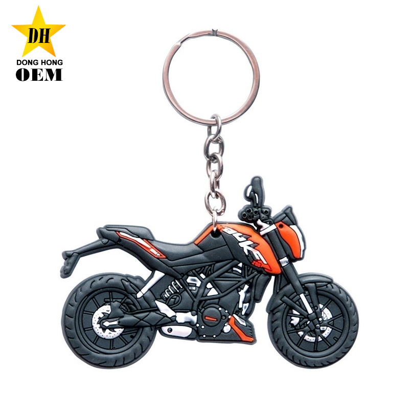 shop gifts logo brand autobike motorcycle custom rubber keychains