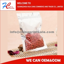 High Quality Plastic Peanut Packaging Bag/snack Packing Bag/stand Up Pouches With Zipper