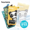READY TO SHIP Huunana x Happiplayground Brand Universal PU Waterproof Cell Phone Case IPX8 Waterproof Phone Pouch Bag