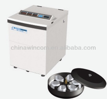 Floor-type low speed refrigerated centrifuge DL-6A 6000rpm