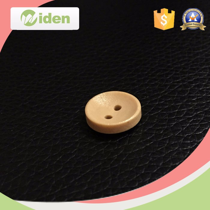 2 Holes Custom Clothing Buttons Natural Wooden Button for Garment Accessories