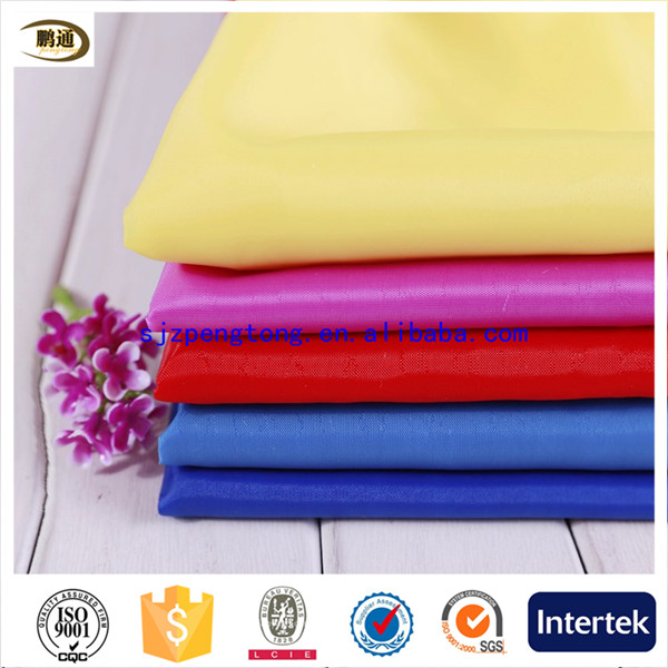High quality taffeta woven plain fabric on sale