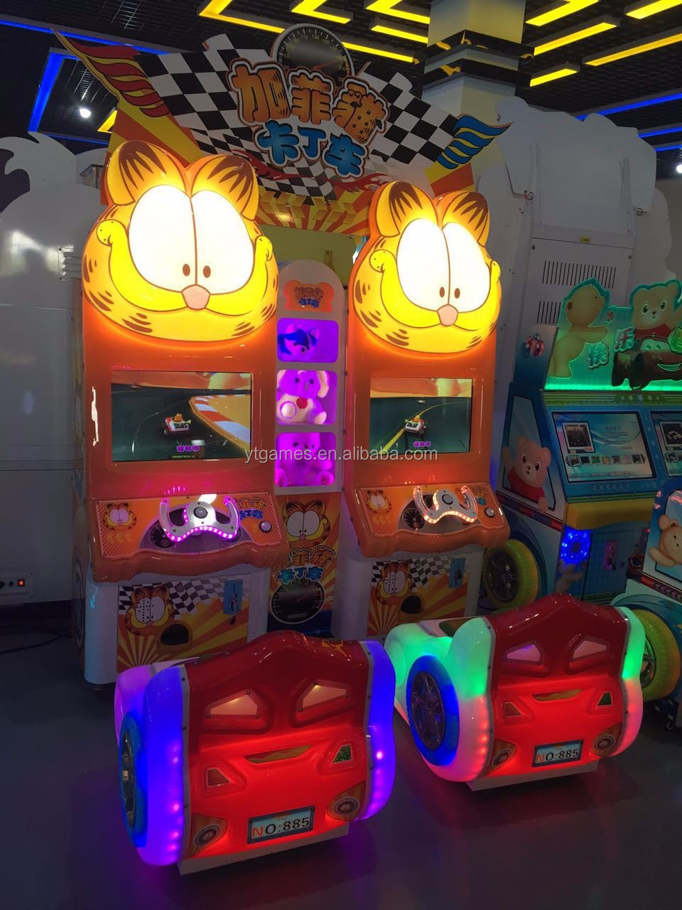 YDA newest kiddie rides game machine/arcade swing car kids ride