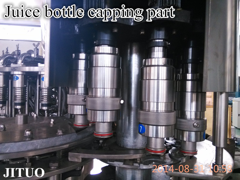 pure water filling and sealing machine