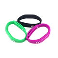 Waterproof custom logo reusable silicone rfid wristbands
