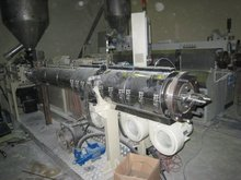 PVC extruder - Twin Screw Extruder