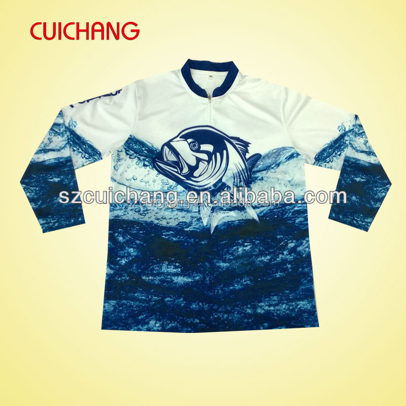 Fishing jersey buy fishing jersey 100 polyester for Tournament fishing shirts wholesale