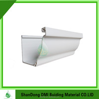 5 inch k style dual wall colored pvc gutter made in China