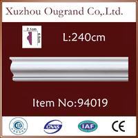 durable pu foam ceiling cornice design from China