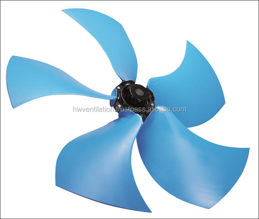8 blades Silent Right Profile Axial Impellers