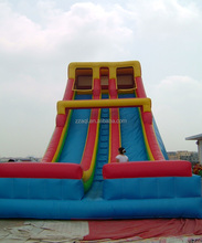 Aoqile direct sale giant inflatable water slide for park