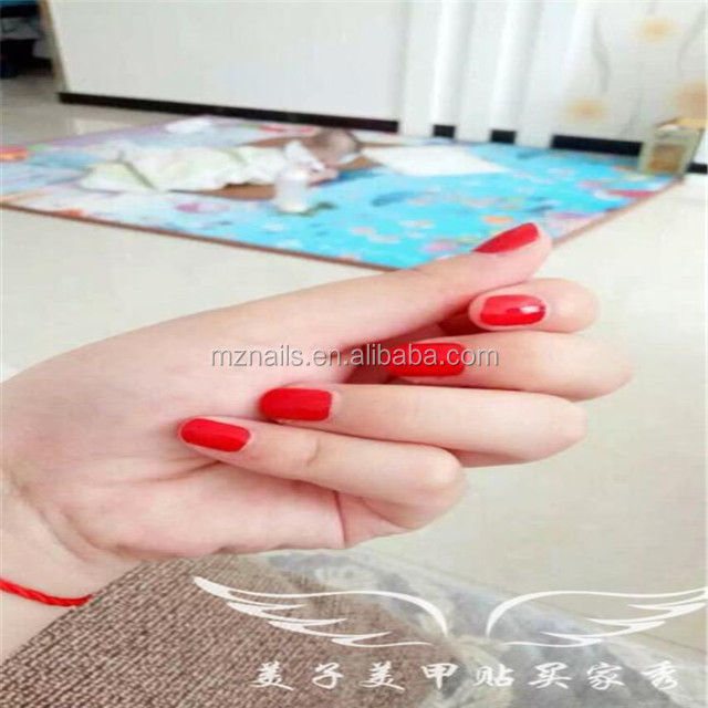 customize all kinds of cute small shape nail wrap sticker