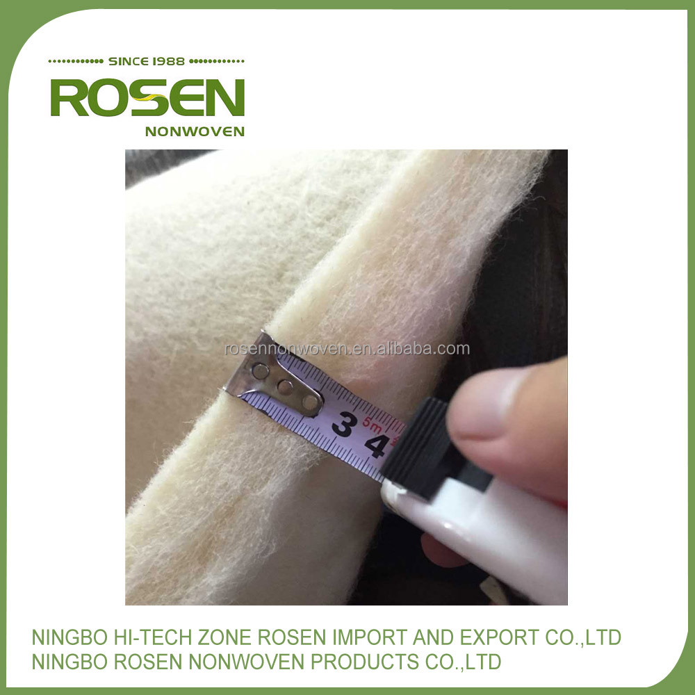 RS NONWOVEN tear resistant fabric non woven insoles wool with high quality