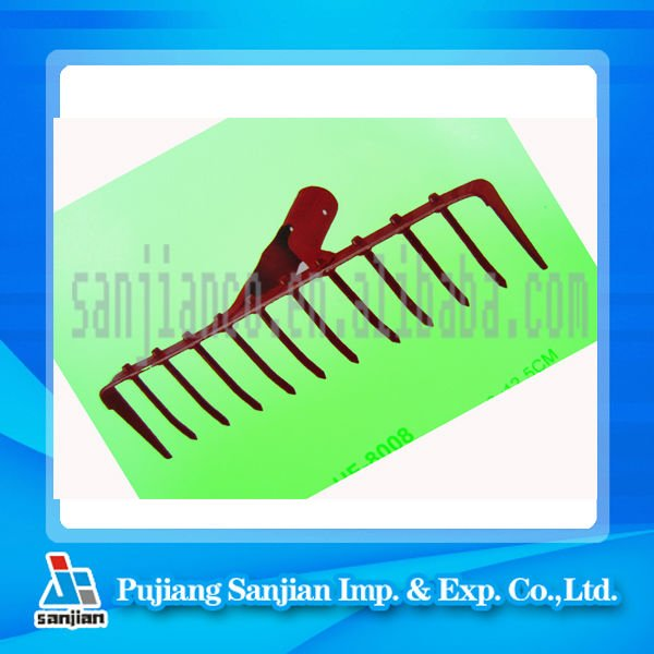 widely accepted 12T steel farm/garden rake