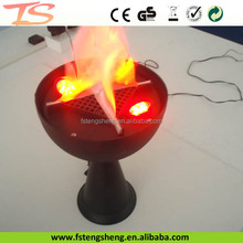 stage fire freight lamp decorative table flame lamp made in china