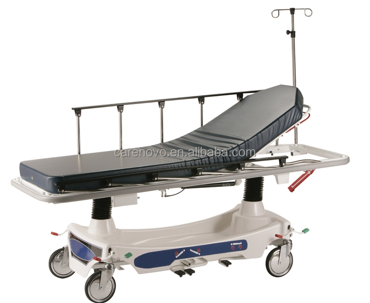 Model CVST001 cheap price 1100US$ hydraulic transport stretcher