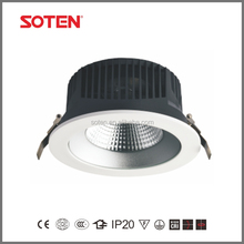 Hot sale shop lighting LED COB ceiling downlight with 155 ceiling cut out 30W downlight