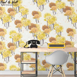 Children design hand painted luxury non-woven wallpaper for home decor wallpaper kids bedroom PW2017102818