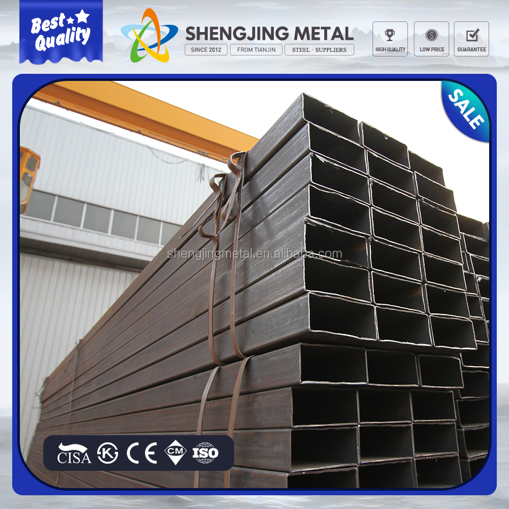 q235 square steel tube / rectangle steel / rectangle steel pipe