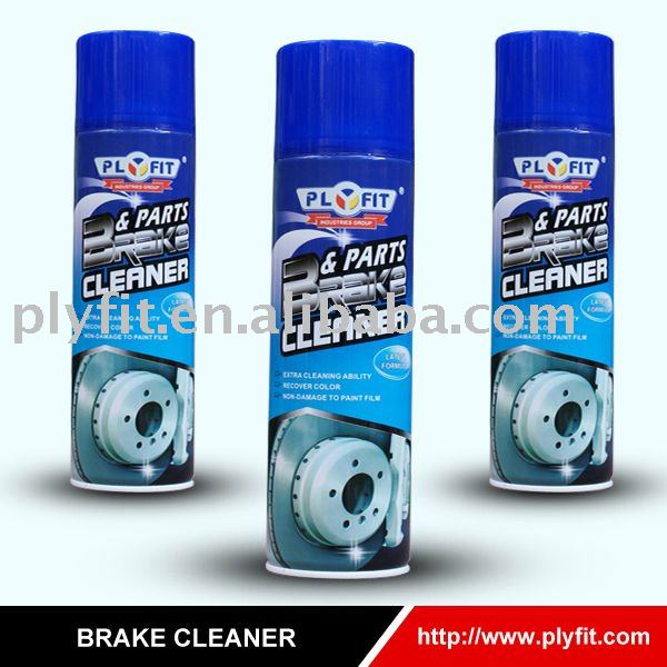 car care brake cleaner aerosol spray