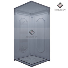 Small Shaft Elevator / Small Home Lift/ home hydraulic lift elevator For 2 Person