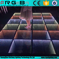 Cool fashion led stage lights 3d dance floor