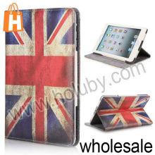 Retro The British Flag Pattern Magnetic Cover Folio Stand Leather Case for iPad Mini/Retina iPad Mini