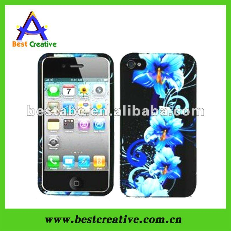 Factory Make Hard Cover For Iphone 4 4s Plastic Case