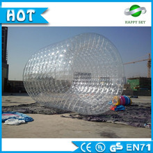 High quality PVC inflatable water roller,inflatable water roller ball,water sport toys